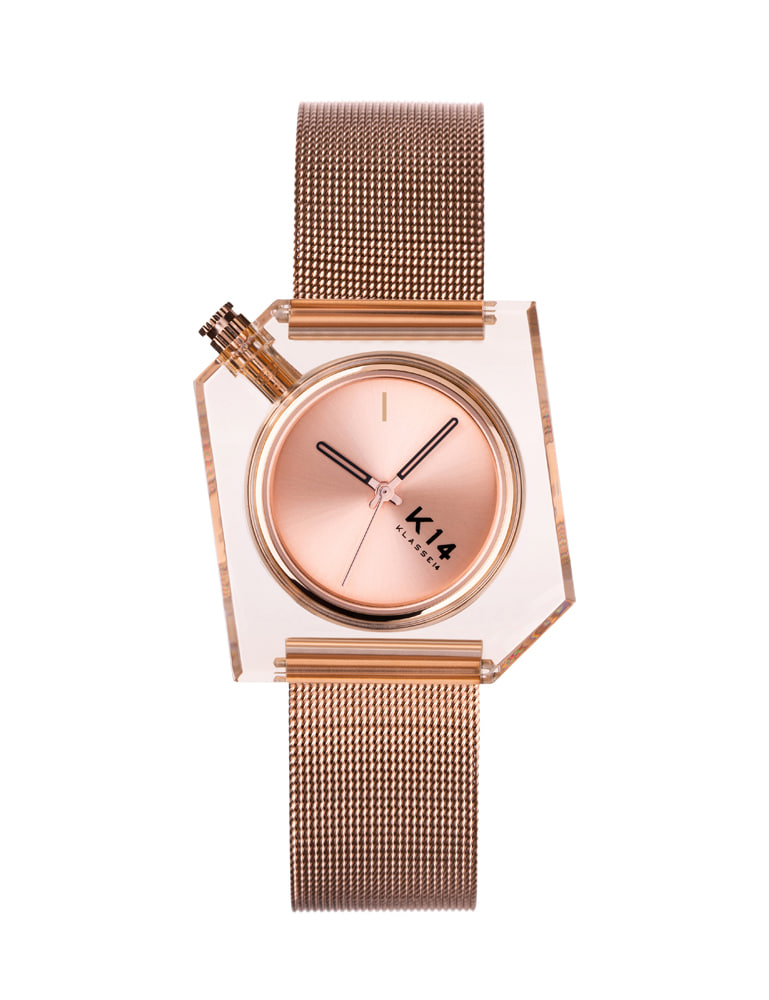 K14 ROSE GOLD MESH 40mm